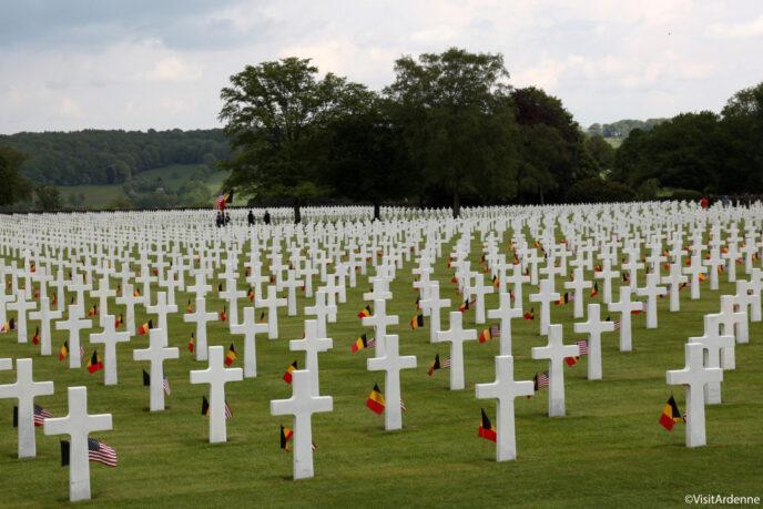 cemetery ardennes american war