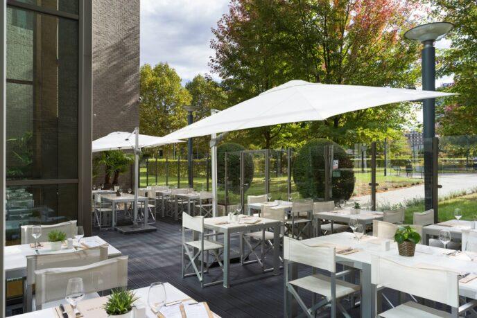 courtyard hotel terrace