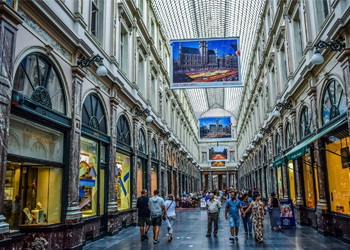 Shopping tour Brussels