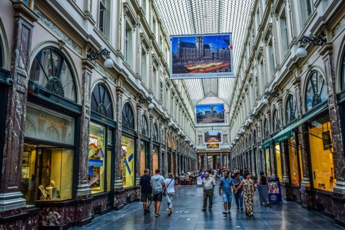 shopping brussels